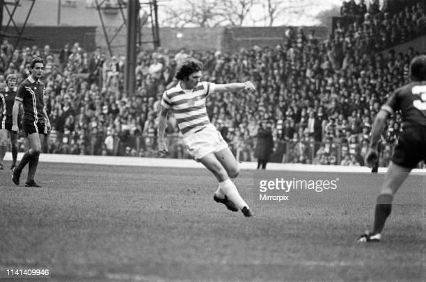 Celtic 3-0 Dundee, Scottish Premier league match at Celtic Park, Saturday 13th October 1979.
