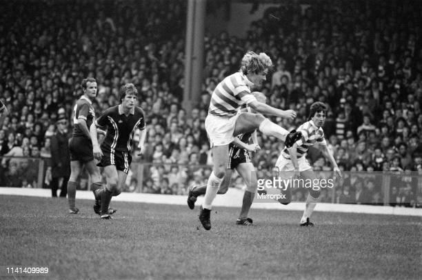 Celtic 30 Dundee Scottish Premier league match at Celtic Park Saturday 13th October 1979