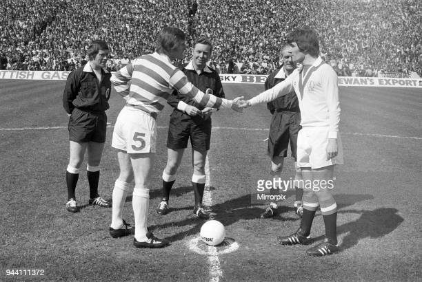 Celtic 31 Airdrie Scottish FACup Final Hampden Park Glasgow Scotland Saturday 3rd May 1975 Billy McNeill Celtic Captain plays his last match for the...