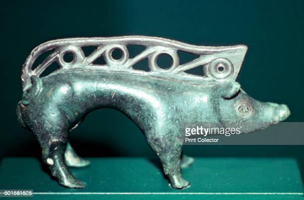 Celtic bronze boar from Sudostalpenraum