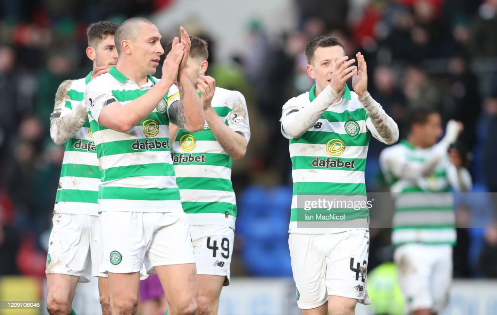 St Johnstone v Celtic - Scottish Cup Quarter Final : News Photo