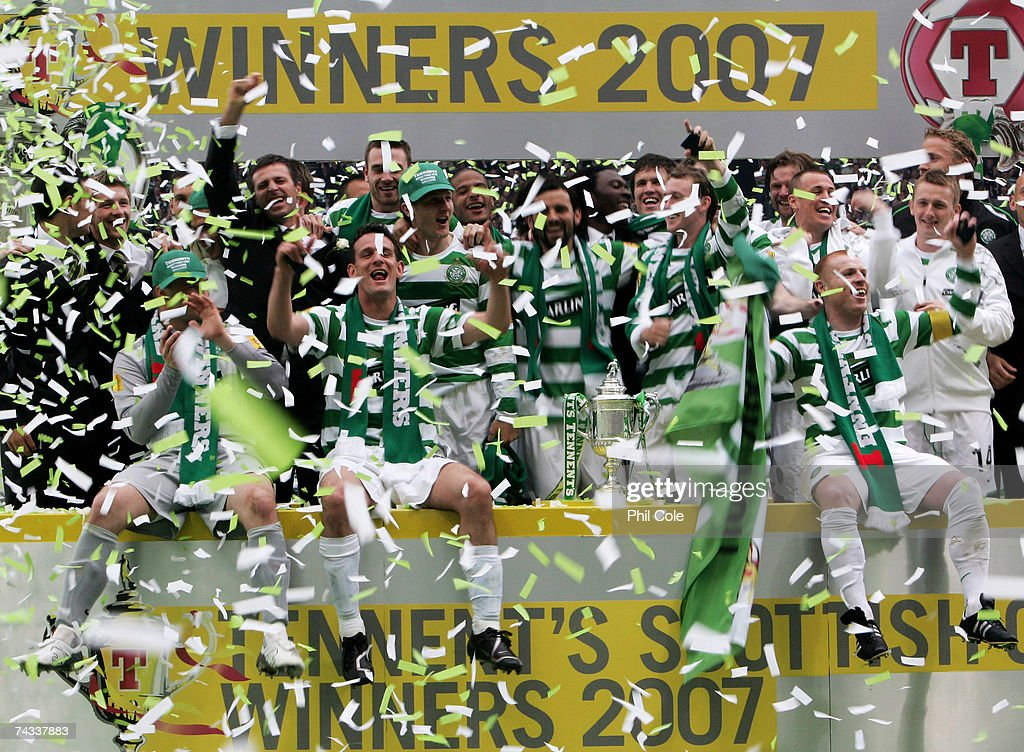 Scottish FA Cup Final: Celtic v Dunfermline Athletic : News Photo