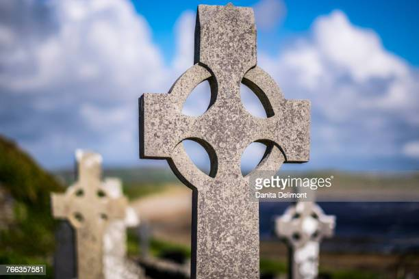 Celtic cross, Clare Abbey, Ireland
