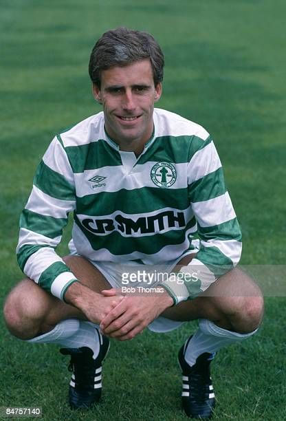 Celtic defender Mick McCarthy circa 1988