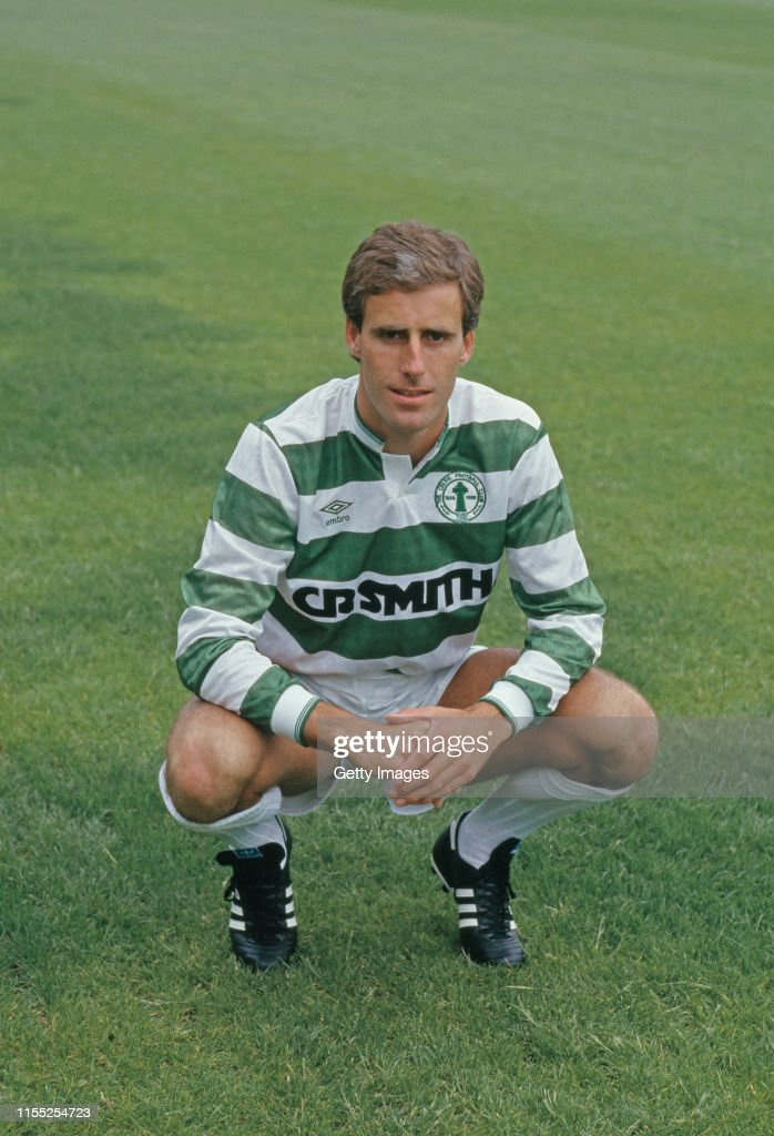 Mick McCarthy Celtic 1987 : News Photo