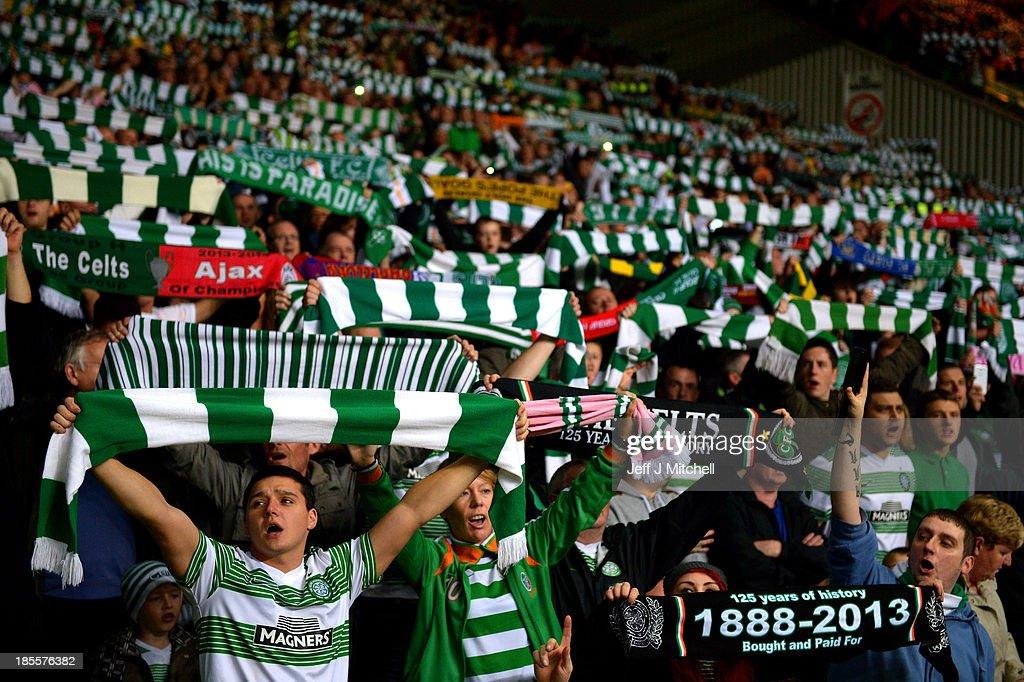 Celtic v Ajax Amsterdam - UEFA Champions League : News Photo