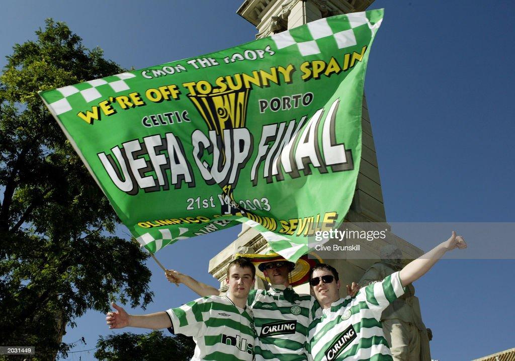 Celtic fans : News Photo