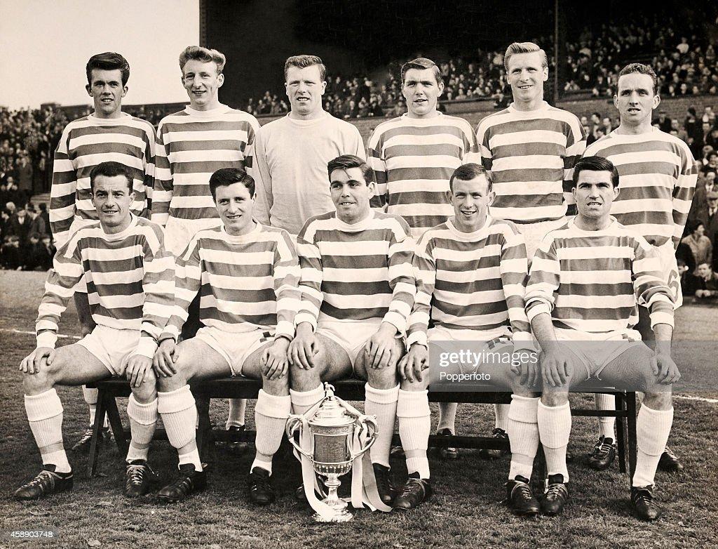 Celtic Football Team - Scottish FA Cup Winners : News Photo