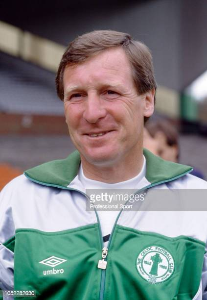 Celtic manager Billy McNeill circa 1987