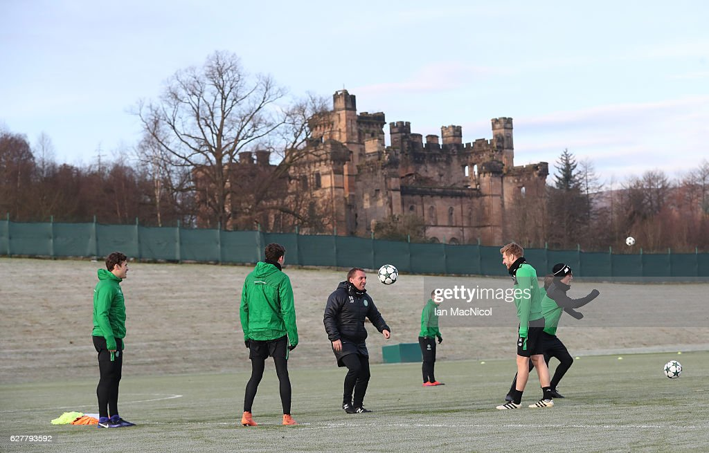 Celtic Training Session : Photo d'actualité