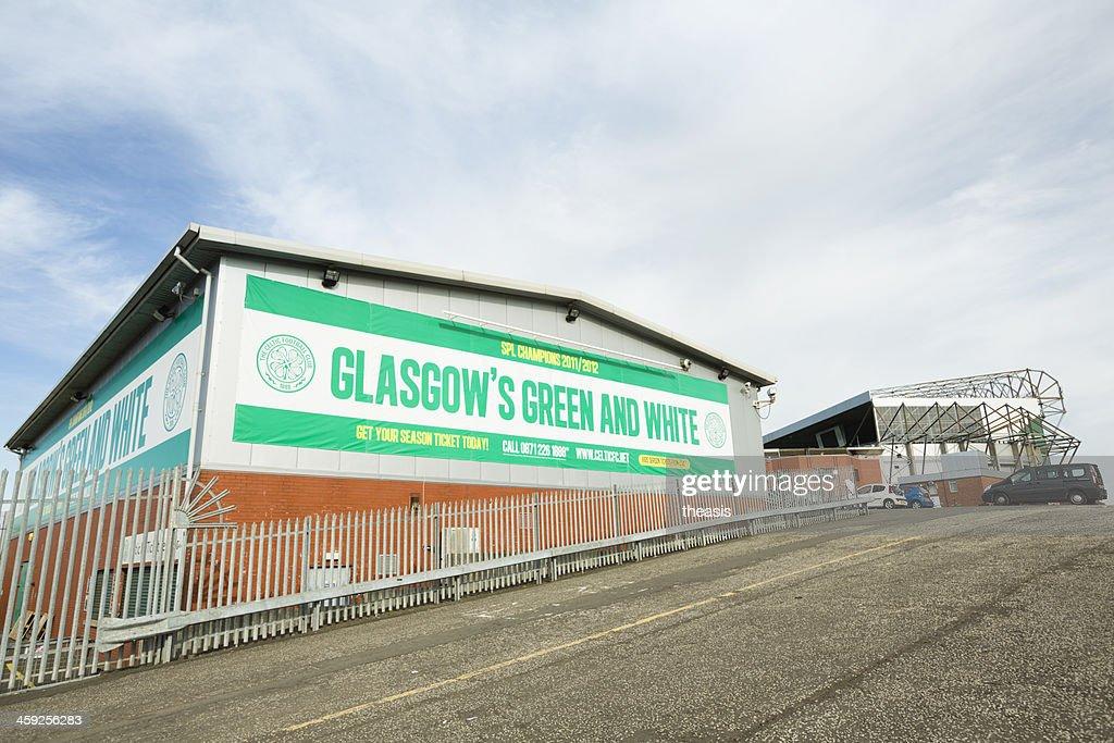 Celtic Park Stadium, Glasgow : Stock Photo