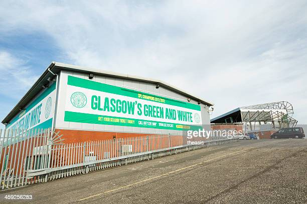 celtic park stadium, glasgow - theasis stock pictures, royalty-free photos & images