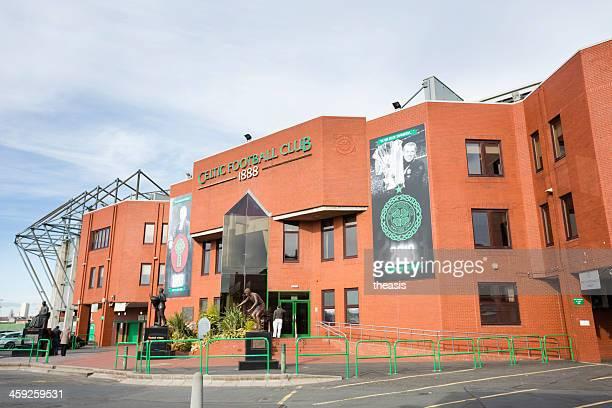 celtic park stadium, glasgow - theasis stock-fotos und bilder