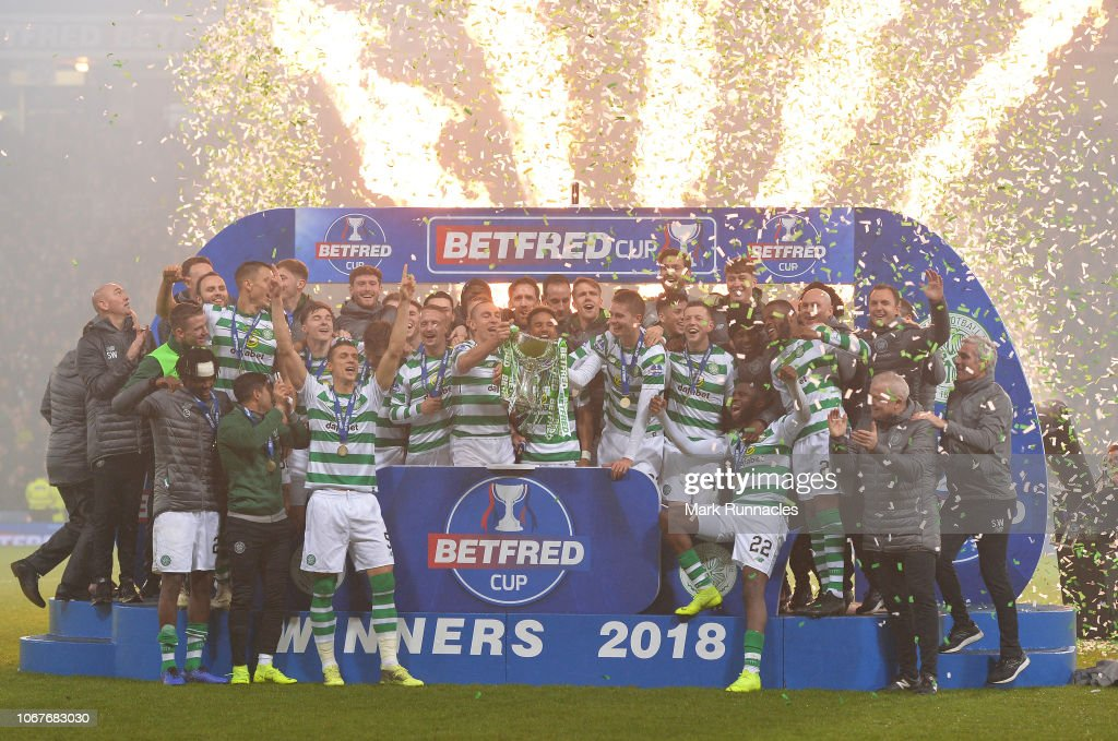 Celtic v Aberdeen - Betfred Cup Final : News Photo