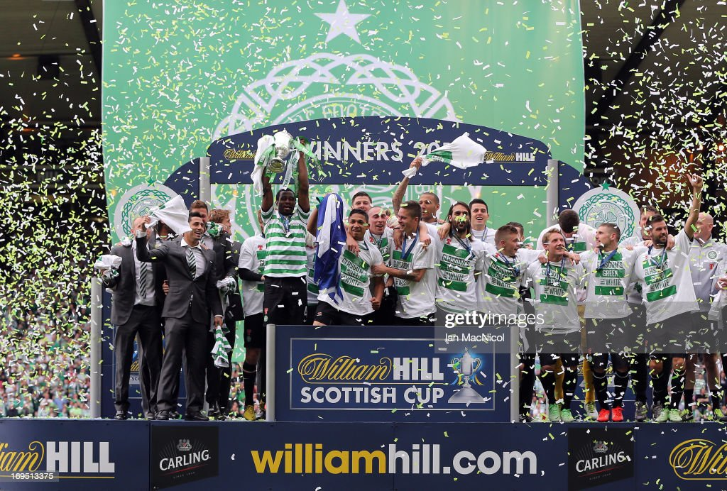 Celtic v Hibernian - William Hill Scottish Cup Final : News Photo