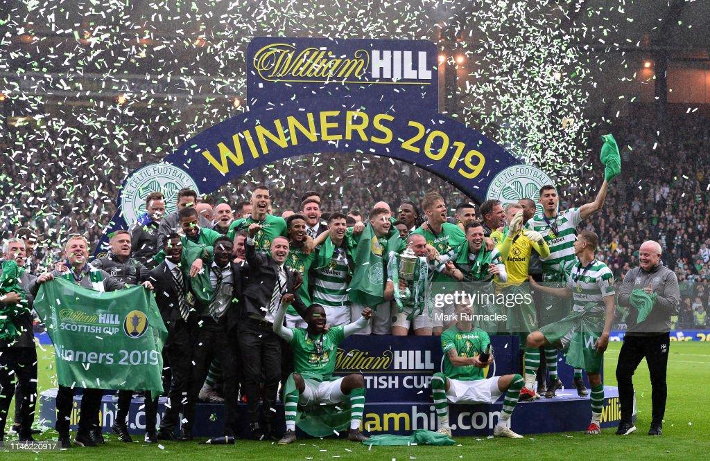 Heart of Midlothian v Celtic - Scottish Cup Final : News Photo