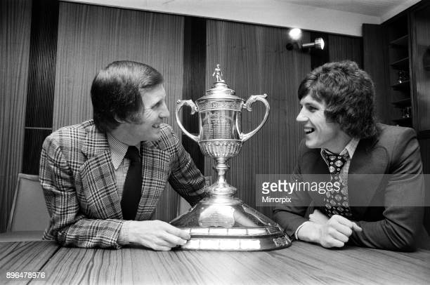 Celtic skipper Billy McNeill and Celtic new signing Ronnie Glavin Billy has collected quite a few Scottish Cup medals in his time with Celtic while...
