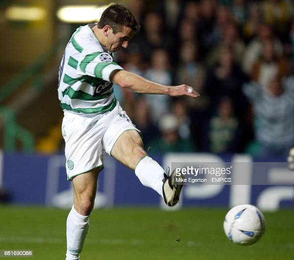 Celtic Score: Celtic's Liam Miller Scores His Team Second Goal Of The