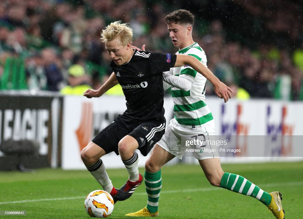 Celtic v Rosenborg - UEFA Europa League - Group B - Celtic Park : News Photo