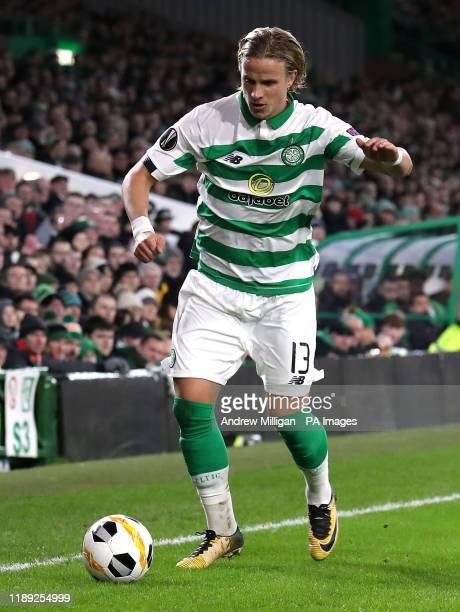 Celtic's Mortiz Bauer