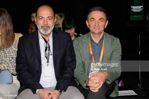 Cem Altan and Cemal Bayazit attend the MercedesBenz Fashion Week Istanbul March 2019 at Zorlu Center on March 20 2019 in Istanbul Turkey