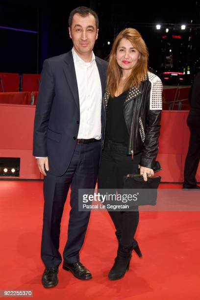 Cem Oezdemir and his wife Pia Maria Castro attend the 'Pig' premiere during the 68th Berlinale International Film Festival Berlin at Berlinale Palast...