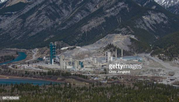 Cement Factory in the Hills