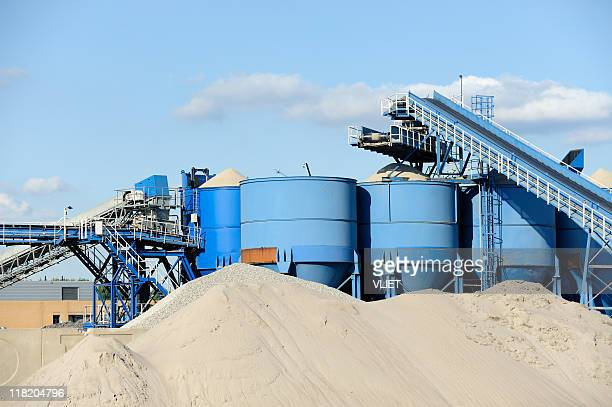 cement factory in the netherlands - cement stock pictures, royalty-free photos & images