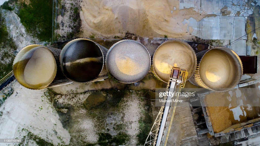 Cement Factory : Stock Photo