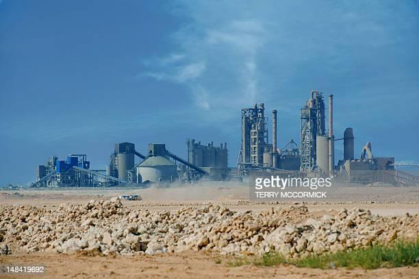 Cement factory, Salalah, Oman