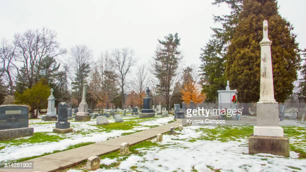 cementery - 安らかに眠れ ストックフォトと画像