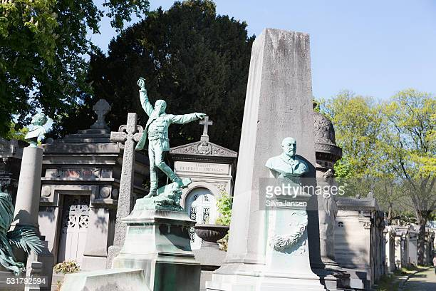 Cemetary Pere Lachaise in Paris, France