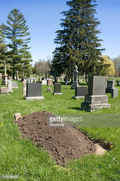 o cemitério plot - túmulo - fotografias e filmes do acervo