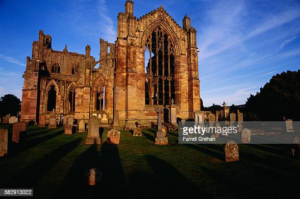 Cemetery and Ruins of Melrose Abbey