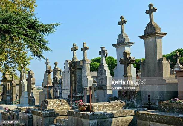 Cemetery at Carcassonne - France