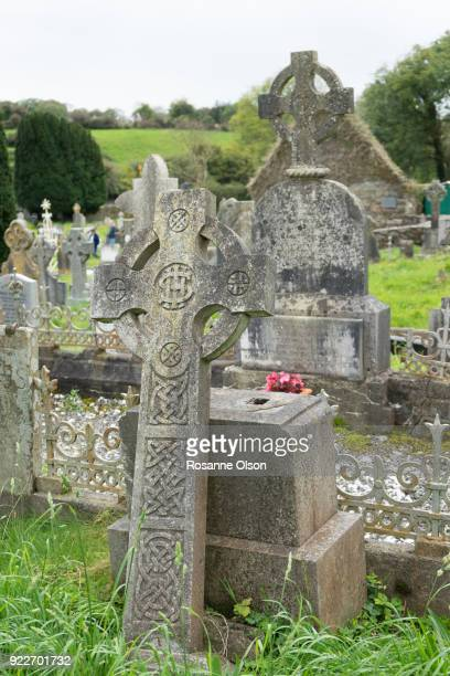 cemetery in ireland. - county cork stock pictures, royalty-free photos & images