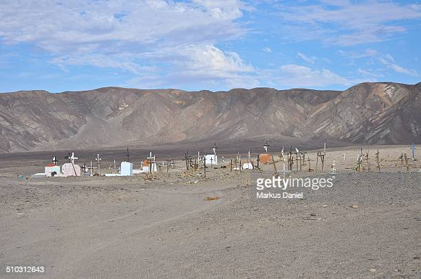 "cemetery in the nazca (nasca) desert - ""markus daniel"" stock pictures, royalty-free photos & images"