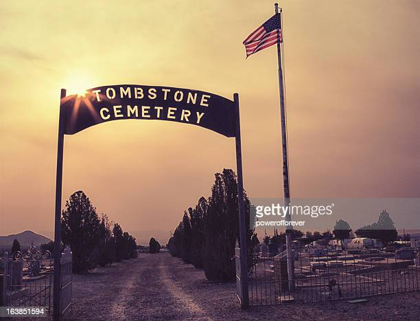 Cemetery in Tombstone, Arizona