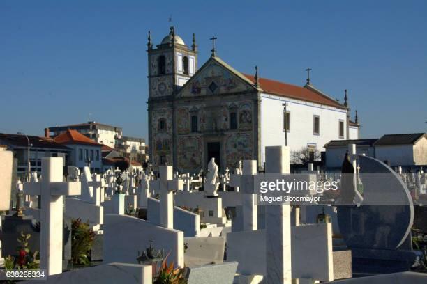 Cemetery near the church of Valega
