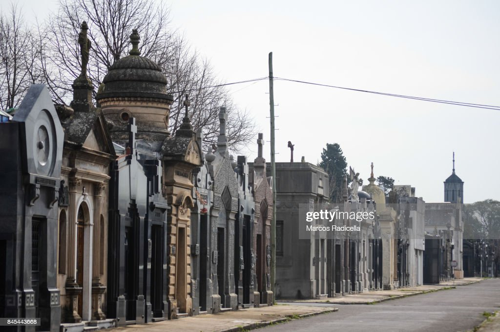 Cemetery of Chacarita, Buenos Aires, Argentina : Stock Photo
