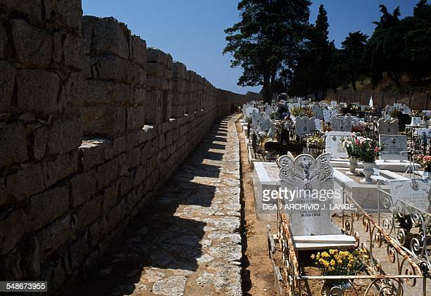 Cemetery of Sesimbra Historical Province of Extremadura Lisbon Portugal