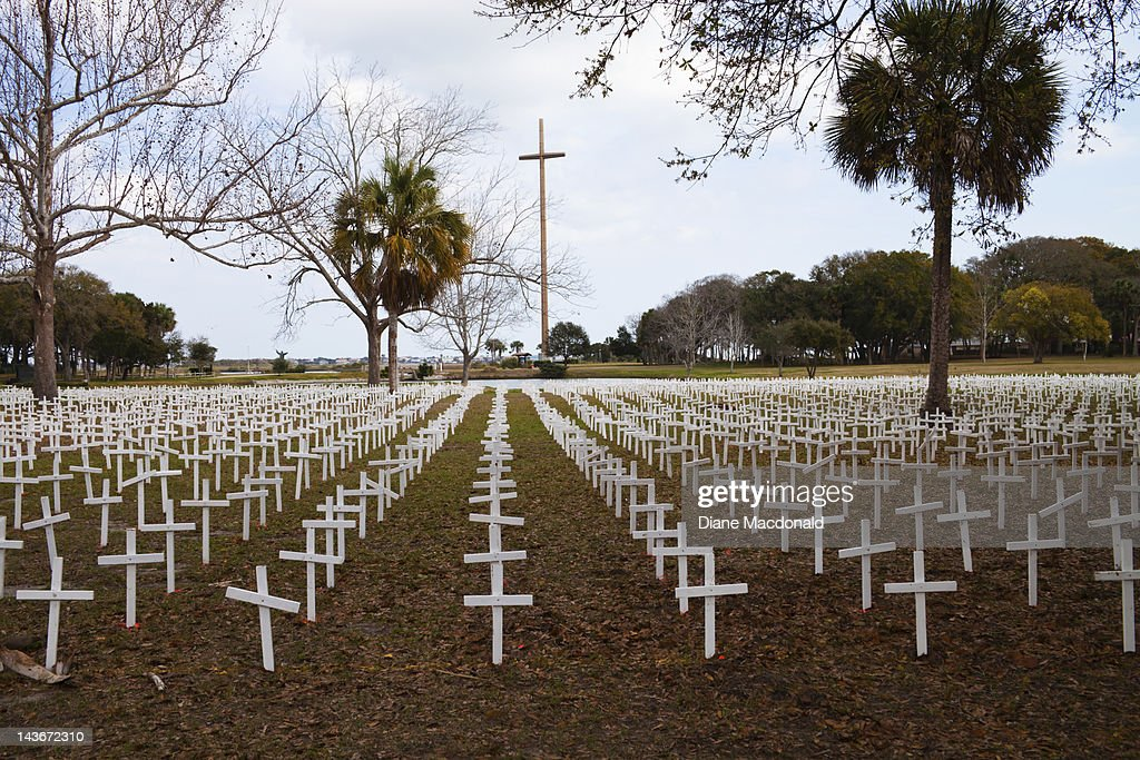 Cemetery of the Innocent , St. Augustine, Florida : Stock Photo