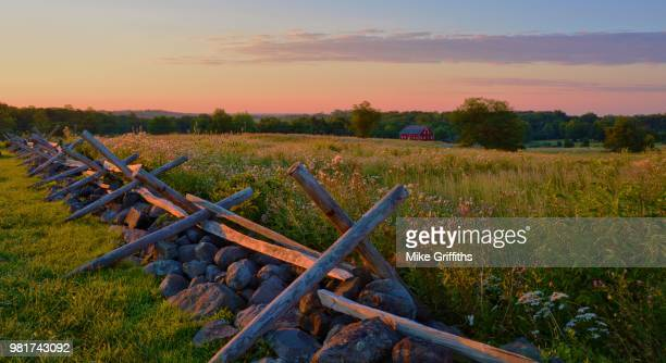 cemetery ridge - battlefield stock pictures, royalty-free photos & images