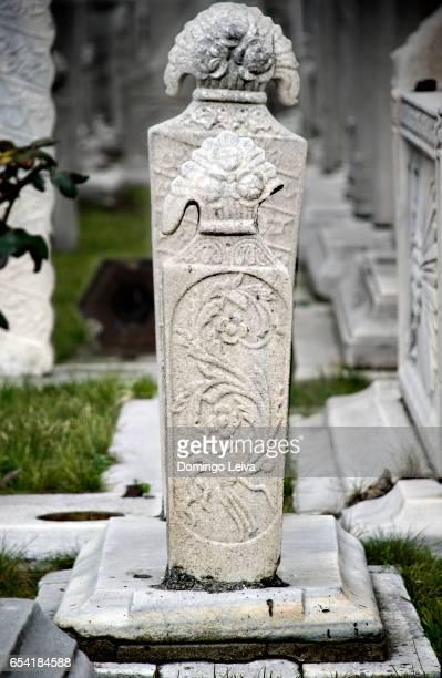 cemetery, suleymaniye mosque, istanbul, turkey - patrimonio de la humanidad por la unesco stock pictures, royalty-free photos & images