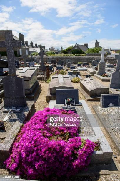 Cemetry at Barfleur, Normandy region, France