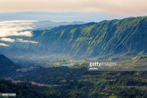 cemoro lawang village - bromo crater stock pictures, royalty-free photos & images