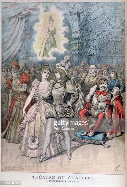 Cendrillon Théâtre du Châtelet Paris 1895 An illustration from Le Petit Journal 14th April 1895