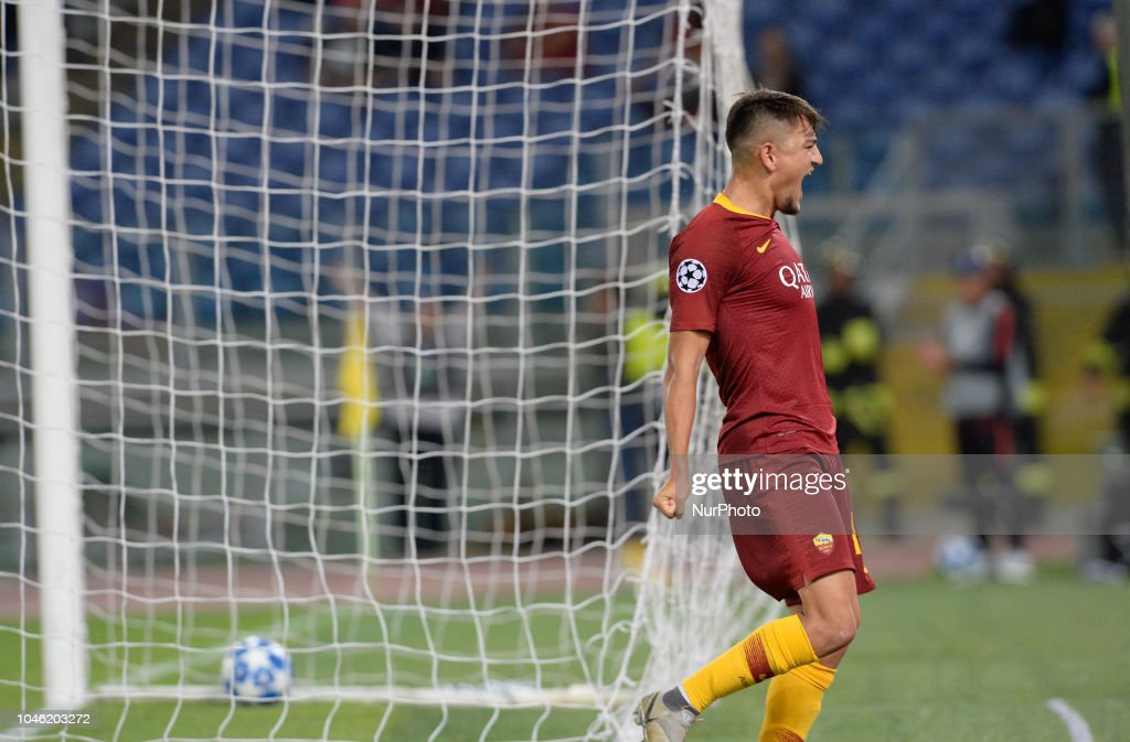 AS Roma v Viktoria Plzen - UEFA Champions League Group G : News Photo