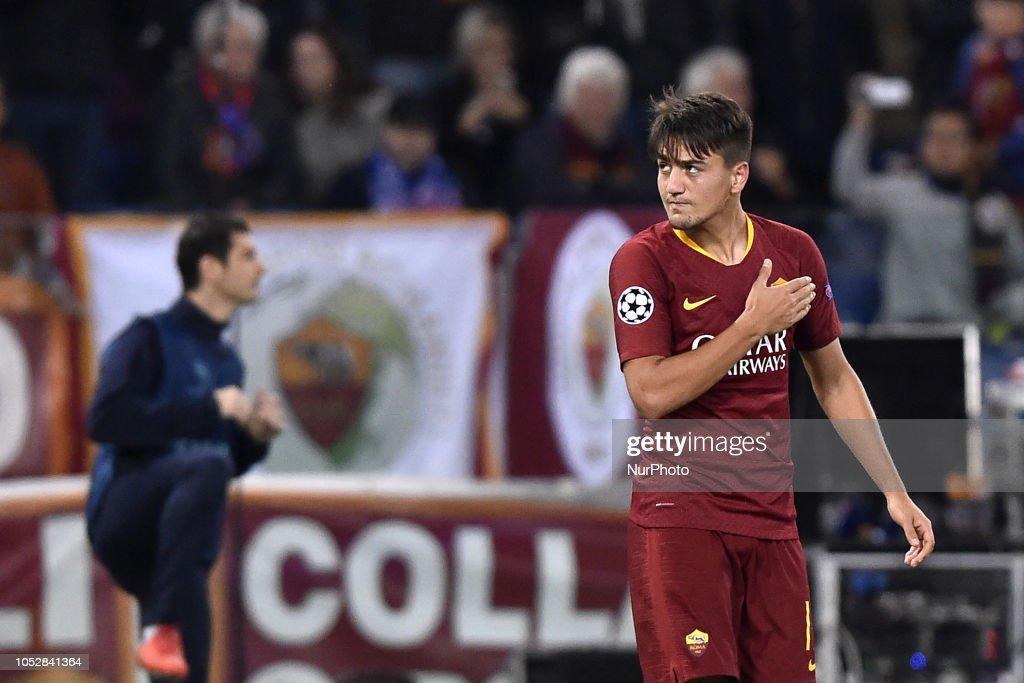 Roma v CSKA Moscow UEFA Champions League 23/10/2018. : News Photo
