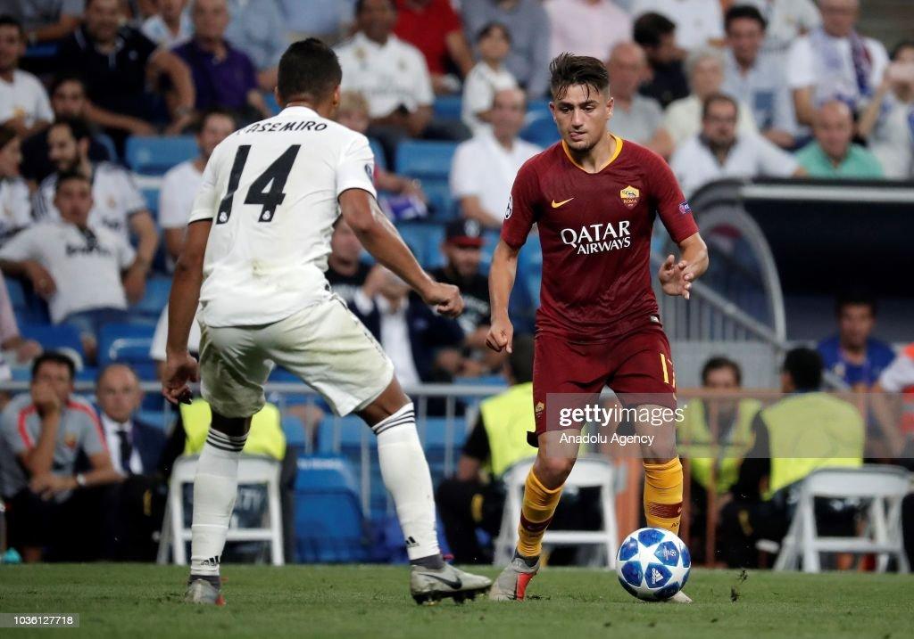 Real Madrid vs AS Roma - UEFA Champions League : News Photo